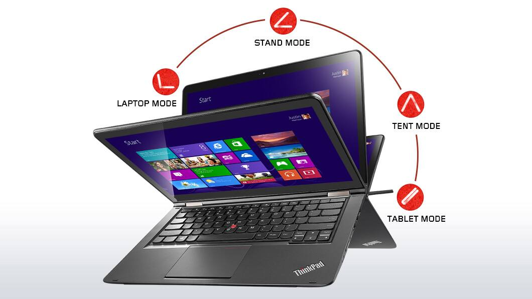 "Lenovo ThinkPad Yoga 2-In-1 Ultrabook: i5-5200U, 14"" 1080p IPS, 1TB, 8GB DDR3  $699 + Free Shipping"