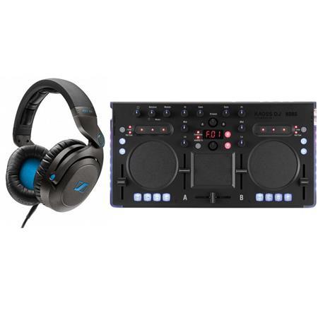 Sennheiser HD7 DJ Headphones + Korg USB DJ Controller w/ 120 Kaoss Effects  $220 + Free S&H