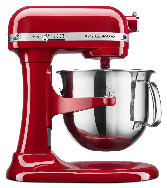6-Quart KitchenAid Professional 6000 HD Bowl-Lift Stand Mixer (Used, Very Good)  $130 + Free Shipping