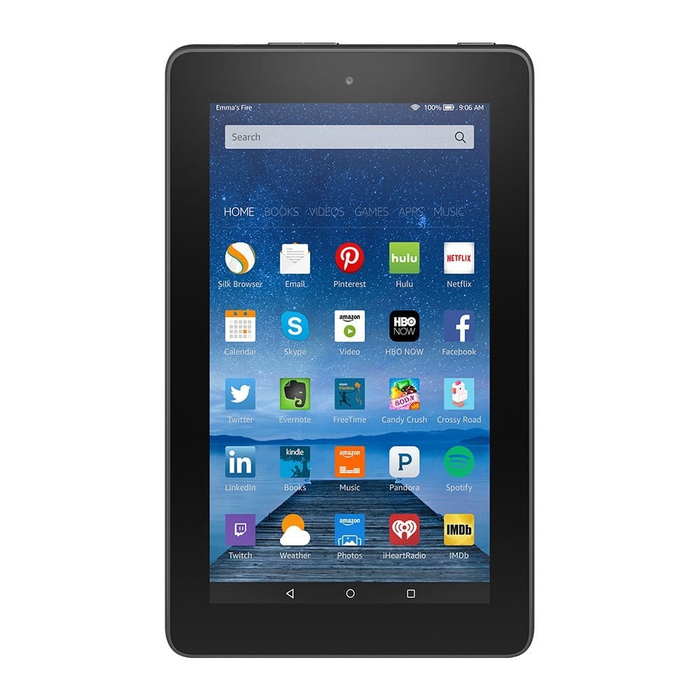 """8GB Amazon Fire 7"""" Wi-Fi Tablet w/ Special Offers  $40 + Free Shipping"""