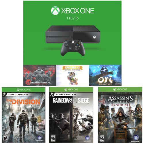 1TB Microsoft Xbox One Holiday Bundle + 3 Games  $400 + Free Shipping