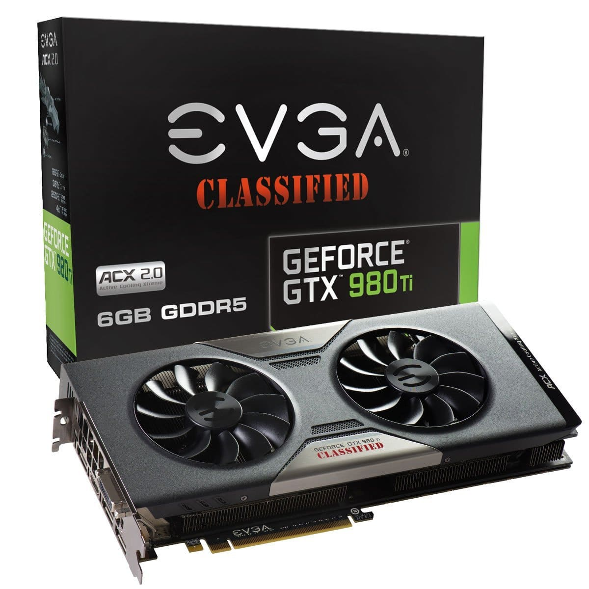 EVGA GeForce GTX 980 Ti 6GB GDDR5 Classified Video Card + The Division Game  $592 After $20 Rebate + Free S&H