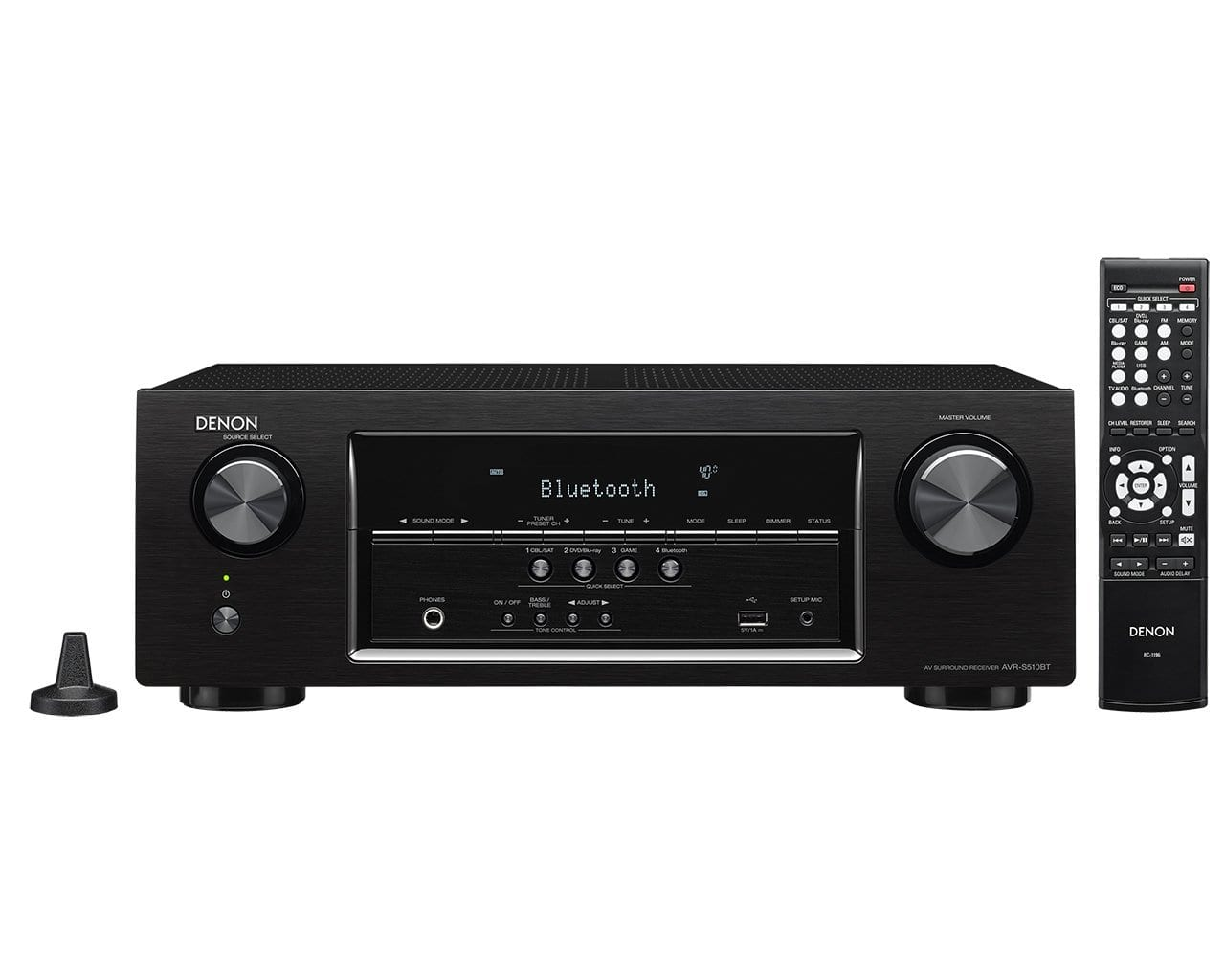 Frys Email Exclusive: Denon AVR-S510BT 5.2 Channel AV Receiver  $188 + Free Store Pickup