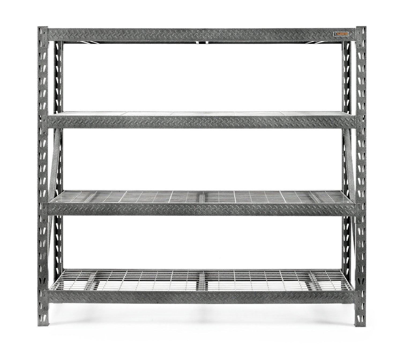 4-Shelf Gladiator Steel Shelving Unit (8000lb Capacity)  $140 + Free Shipping