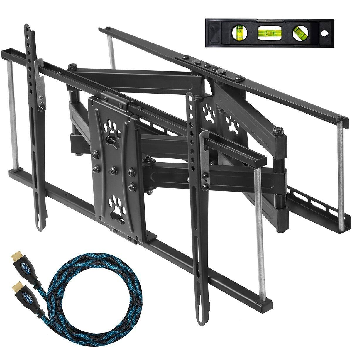"Back Again - Cheetah 32""-65"" Dual Articulating Arm TV Wall Bracket Mount w/ 10' HDMI Cable & Leveler $34.98 + Free Shipping Amazon.com"