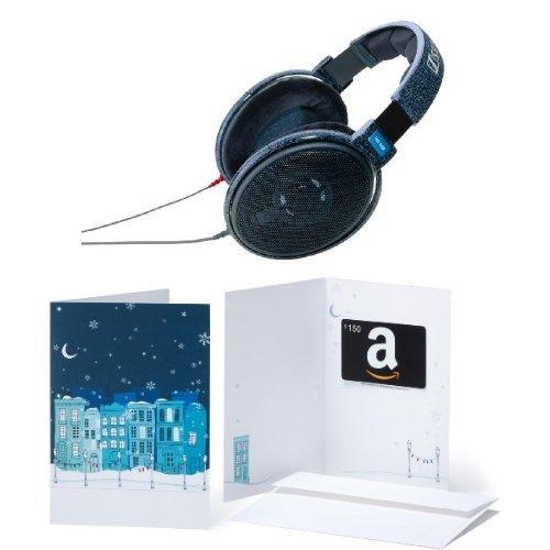 Sennheiser HD 600 Headphones + $150 Amazon Giftcard for $400 from Amazon.com