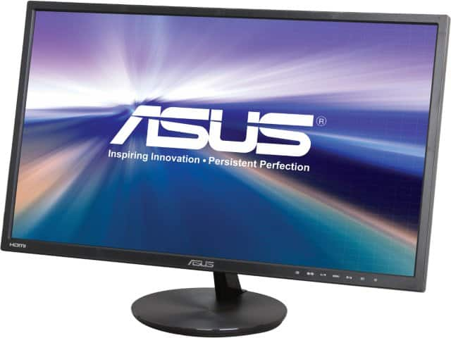 "24"" Asus VN248H-P 1920x1080 5ms IPS Panel HDMI LED Monitor w/ Speakers for $109.99 AR, 27"" Acer G277HL bid 1920x1080 4ms IPS Panel HDMI LED Monitor for $159.99 & More @ Newegg.com"