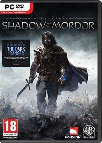 Middle-Earth: Shadow of Mordor: GOTY Edition (PC Digital Download)  $5.75 or Less