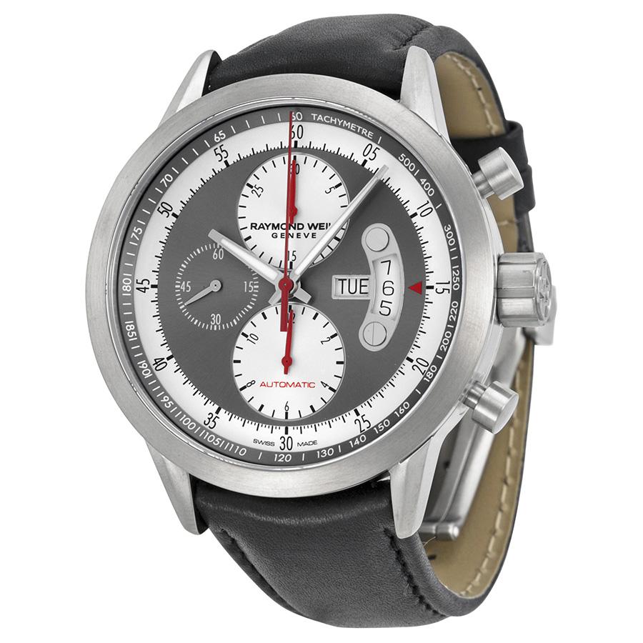 Raymond Weil Freelancer Ttanium Automatic Chronograph Watch $795 + Free shipping