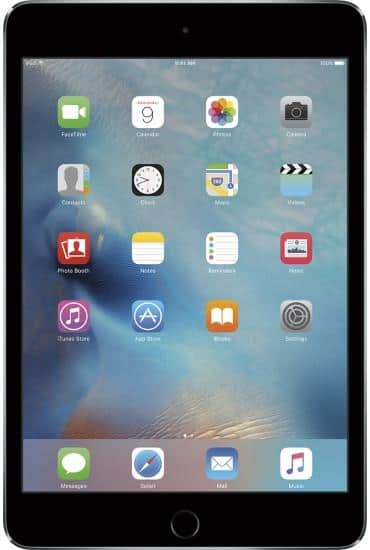 16GB Apple iPad Mini 4 WiFi Tablet (various colors)  $300 & More + Free Shipping