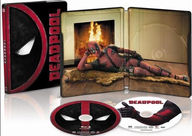 Deadpool Steelbook Pre-Order (Blu-ray + DVD + Digital HD)  $20 + Free Store Pickup