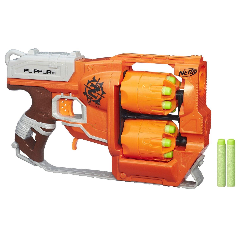 Prime Members: Nerf Zombie Strike FlipFury Blaster  $13 + Free Shipping