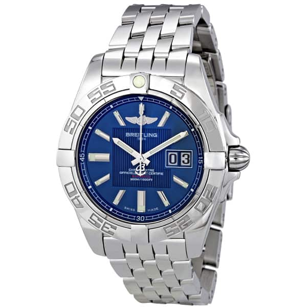Breitling Galactic 41 COSC Certified Automatic Watch $3195 + free shipping