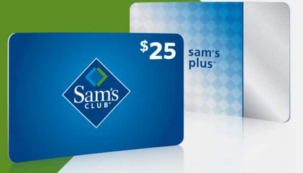 1-Year Sam's Club Plus Membership w/ Offers + $25 Gift Card  $45 (New Members Only)