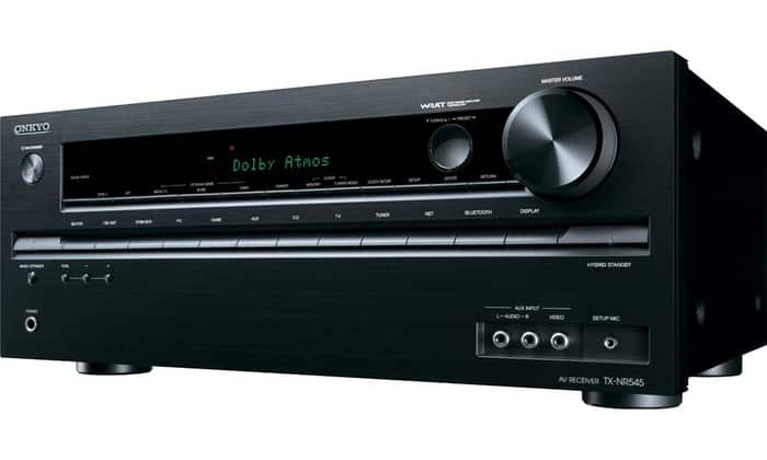 Onkyo TX-NR545 7.2-Channel Network Ready 4K A/V Receiver  $290 + Free Shipping