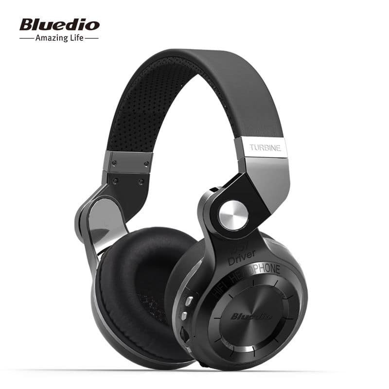Bluedio T2+ Turbine Wireless Bluetooth 4.1 Headphone w/ MicroSD slot & FM Radio $29 + free shipping (various colors)