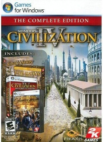 Sid Meiers Civilization IV: The Complete Edition [PC Download] $5.99