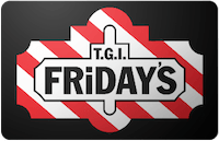 CardCash: Extra 5% Off Restaurant Gift Cards: $25 TGI Friday's Gift Card  $16.75 & More