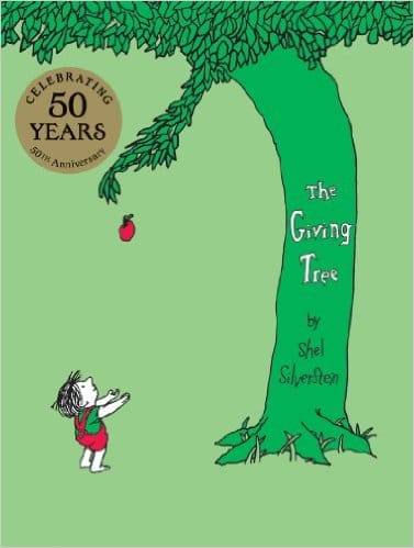 """The Giving Tree"" by Shel Silverstein $1.99 for Kindle"