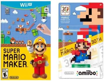 $46.80 Super Mario Maker + 8-Bit Mario Amiibo - Walmart