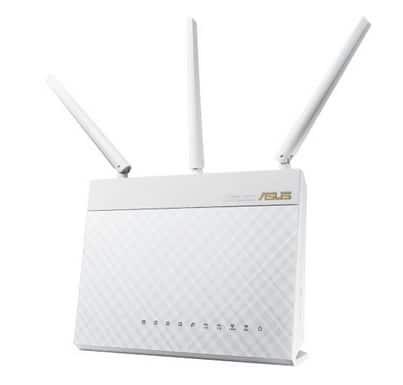 ASUS RT-AC68W Dual-Band Wireless AC1900 Gigabit Router  $120 after $10 Rebate + Free S&H