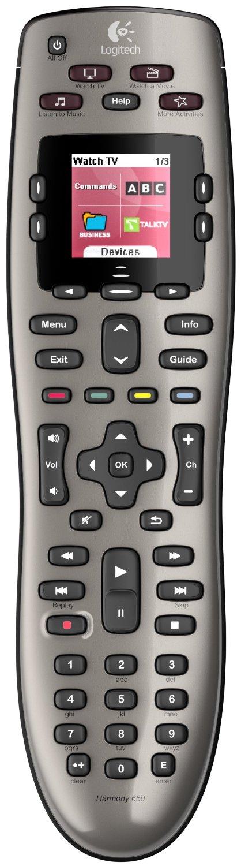 Logitech Harmony 650 Universal Remote $24.99 + Free Shipping @ Newegg