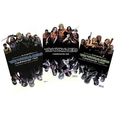 Walking Dead Compendium 1-3 at Walmart $59.99 plus tax free shipping