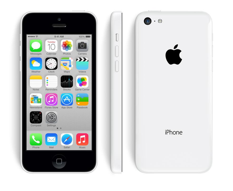 16GB Apple iPhone 5C GSM Unlocked Smartphone w/ Case (Refurbished)  $100 + Free Shipping