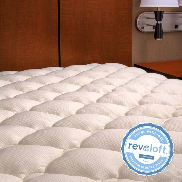 Extra Plush Bamboo Mattress Topper (manufacturer defects): King $45, Queen  $40 & More + Free S&H