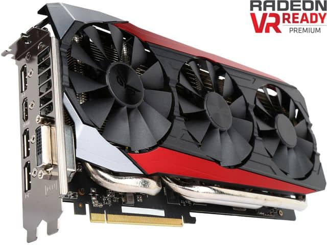 Frys Email Exclusive: Asus Radeon R9 390X 8GB GDDR5 Video Card  $220 after $20 Rebate + Free Store Pickup