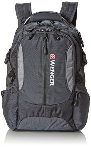 Wenger SA1537 SwissGear Laptop Backpack (Grey) w/ Lifetime Warranty $26.25 + Free Shipping w/ Prime Amazon.com