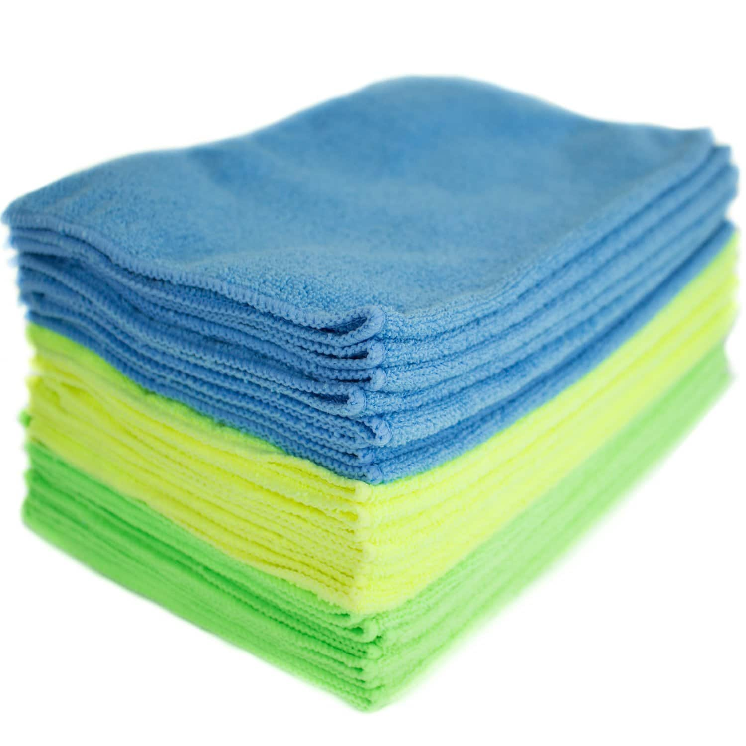 "Amazon Prime Members: 24-Pack Zwipes 12""x16"" Microfiber Cleaning Cloths $8.50 + Free Shipping Amazon.com"