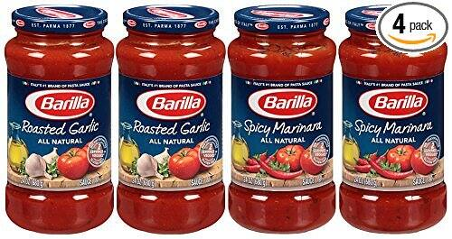 4-Count 24oz Barilla Pasta Sauce Variety Pack  $7.60 + Free Shipping