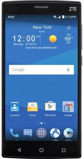 "16GB ZTE Zmax 2 5.5"" AT&T GoPhone No-Contract Smartphone  $60 + Free Shipping"