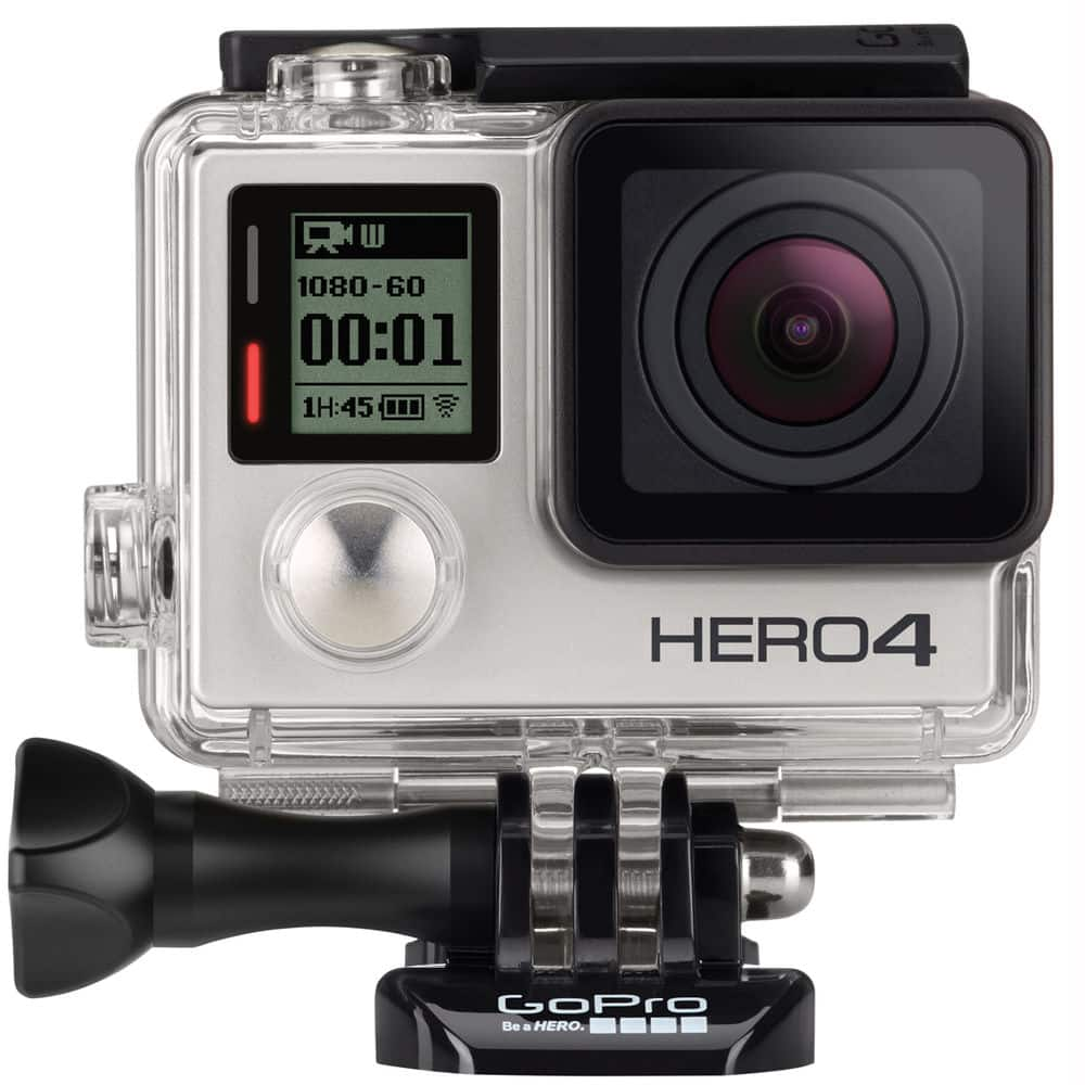 GoPro HERO4 Silver Edition Action Camera (Manufacture Refurbished) $244 Shipped (GoPro via eBay)