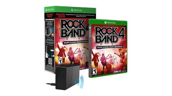 Rock Band 4 with Legacy Controller Adapter for Xbox One $29.99 FREE SHIPPING
