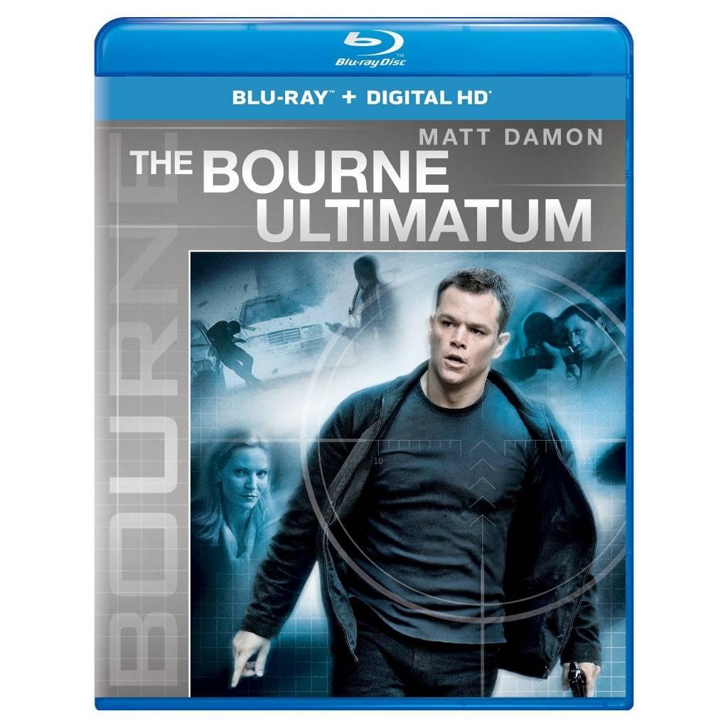 The Bourne Ultimatum (Blu-ray + Digital HD) + $8 Movie Cash $8 @ Target
