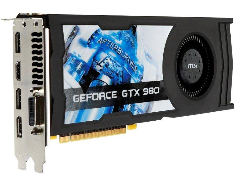 MSI GeForce GTX 980 OC 4GB GDDR5 Video Card  $280 after $30 Rebate + Free S&H