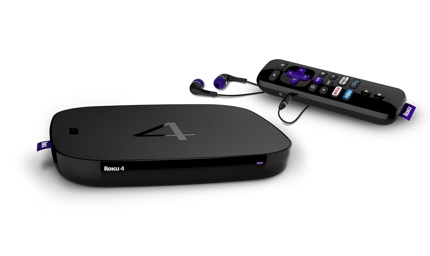 Frys Email Exclusive: Roku 4 UHD 4K Streaming Media Player  $100 + Free Store Pickup (w/ Email Code)