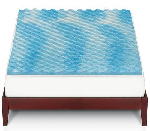 """The Big One 1 1/2"""" Cooling Gel Memory Foam Mattress Topper (Any Size)  $24 + Free Store Pickup"""