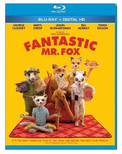 Fantastic Mr. Fox (Blu-Ray/Digital HD) $4.99 + Free In-Store Pickup