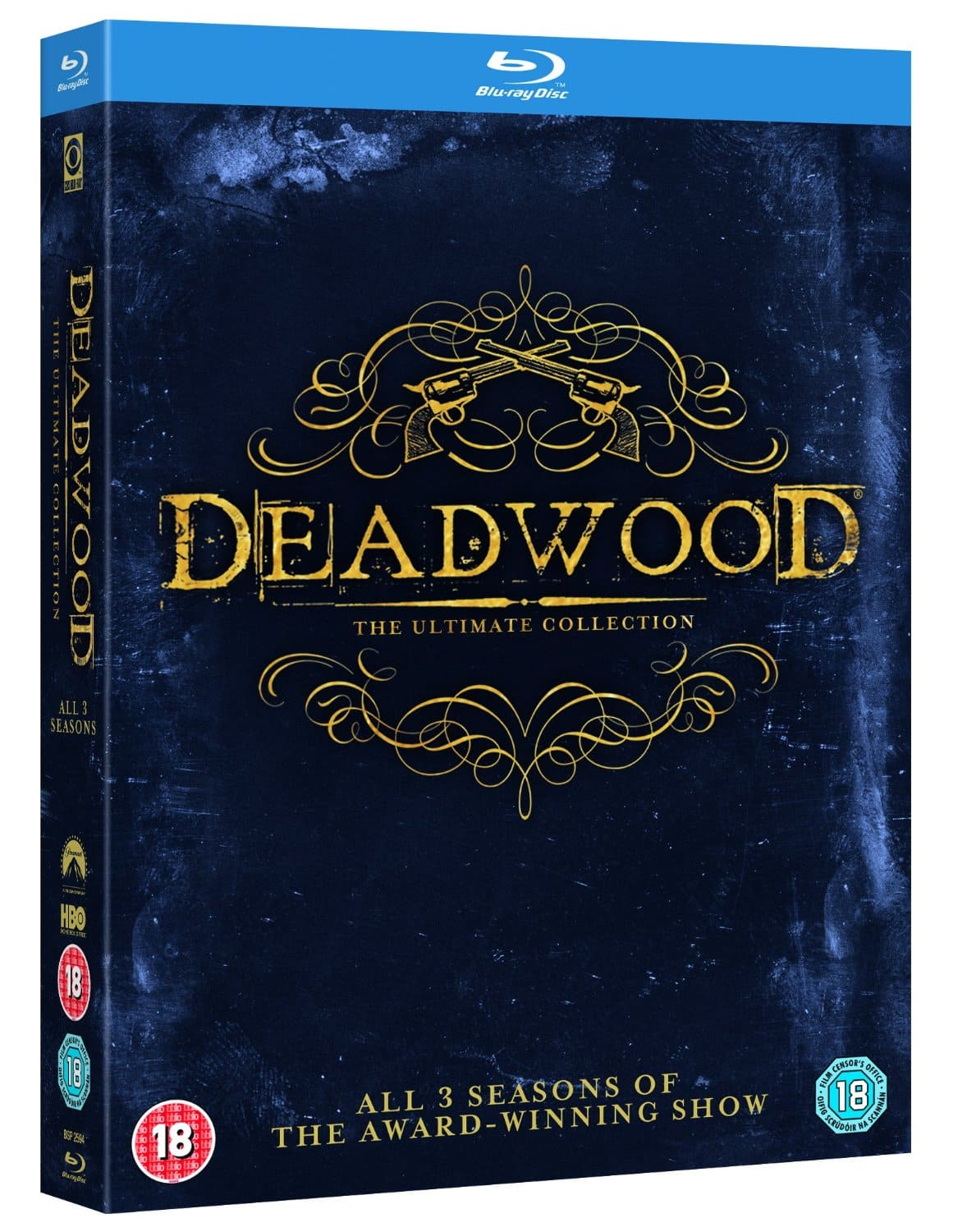 Deadwood: The Complete Collection (Region Free Blu-ray) $19.79 Shipped