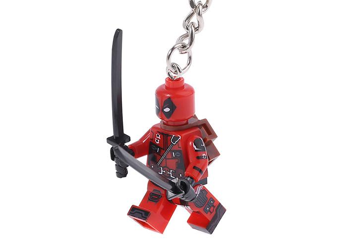 Deadpool Keychain $1.24 + Free Shipping