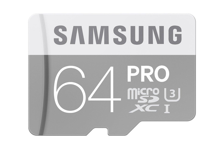 64GB Samsung PRO Class 10 UHS-3 microSD Memory Card $23.99 Amazon