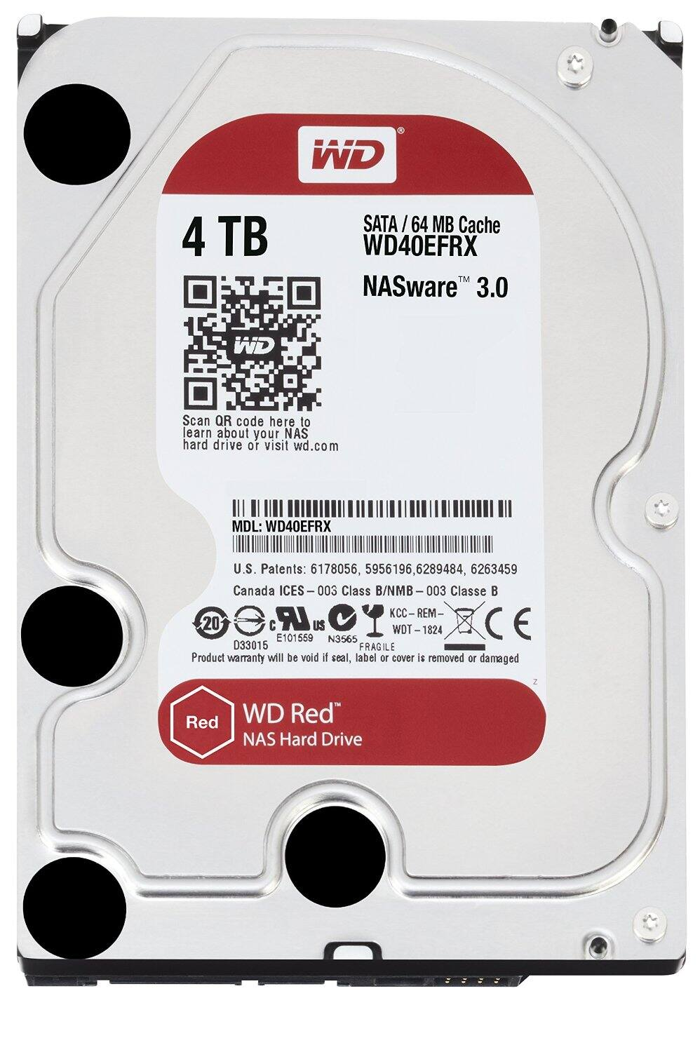 2x of WD Red 4TB NAS Hard Drive 3.5 Inch - WD40EFRX $254.98 AC @ newegg.com with PayPal Checkout