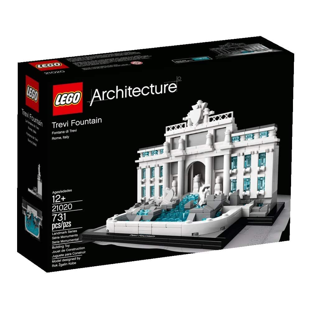 LEGO Architecture Trevi Fountain $34.10