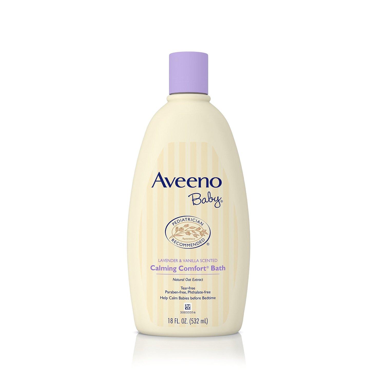 18oz. Aveeno Baby Calming Comfort Bath (Lavender & Vanilla) $3.32 or Less + Free Shipping Amazon.com