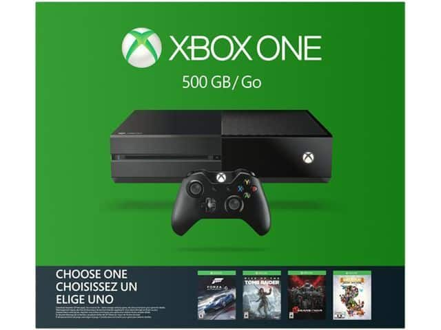 500GB Microsoft Xbox One Name Your Game Console Bundle  $209 + Free Shipping