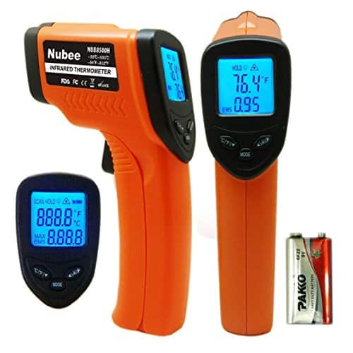 Back again (Nubee Non-Contact Infrared Digital Thermometer $11.88) Slightly cheaper than previous FP Deal! - Amazon -