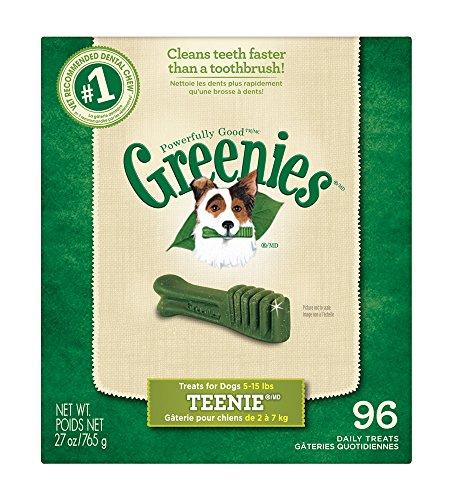 GREENIES Original Dental Dog Treats  - 27oz Teenie  - as low as $13.58 w/15% S&S (or $15.18 with 5% s&s) - Amazon